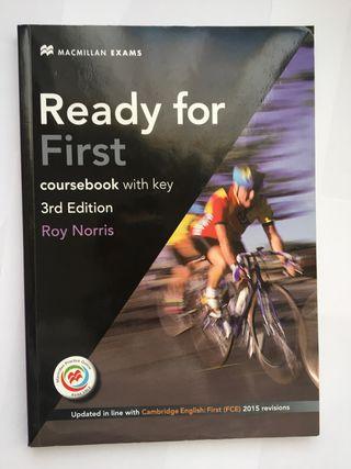 Libro de inglés para preparar el First NUEVO