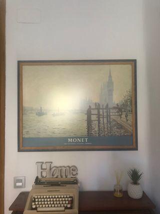 Cuadro + lamina Monet National Gallery London