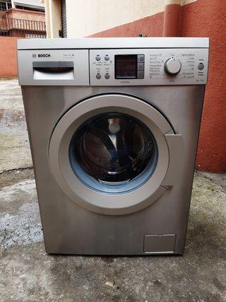 lavadora bosch de 8 kg acero inoxidable