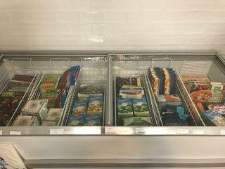 Congelador aparador para uso comercial o doméstico