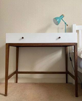Habitat - Tsatsuma Dressing table (white & walnut)