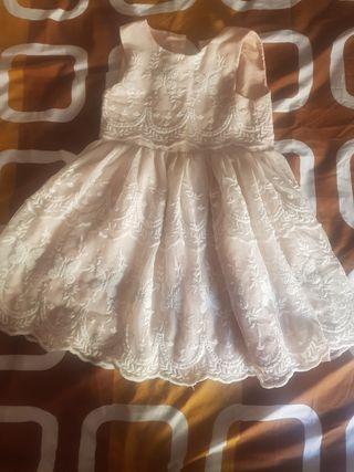 vestido de niña de fiesta