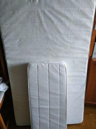 colchones y edredones cama de 80 cm