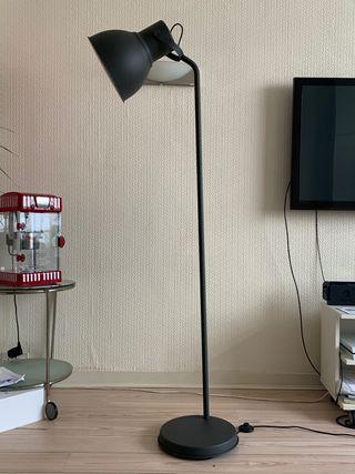 IKEA Torch floor standing lamp - black