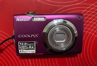 CÁMARA DIGITAL NIKON COOLPIX S3000