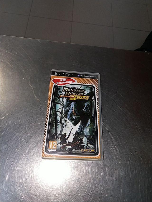 Monster Hunter freedom United PSP