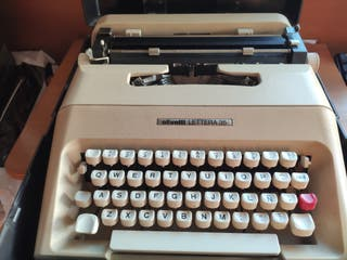 máquina escribir Olivetti Lettera 35 vintage