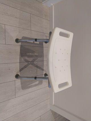 asiento silla anciano tercera edad ducha
