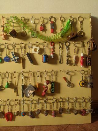 Colección de llaveros antiguos