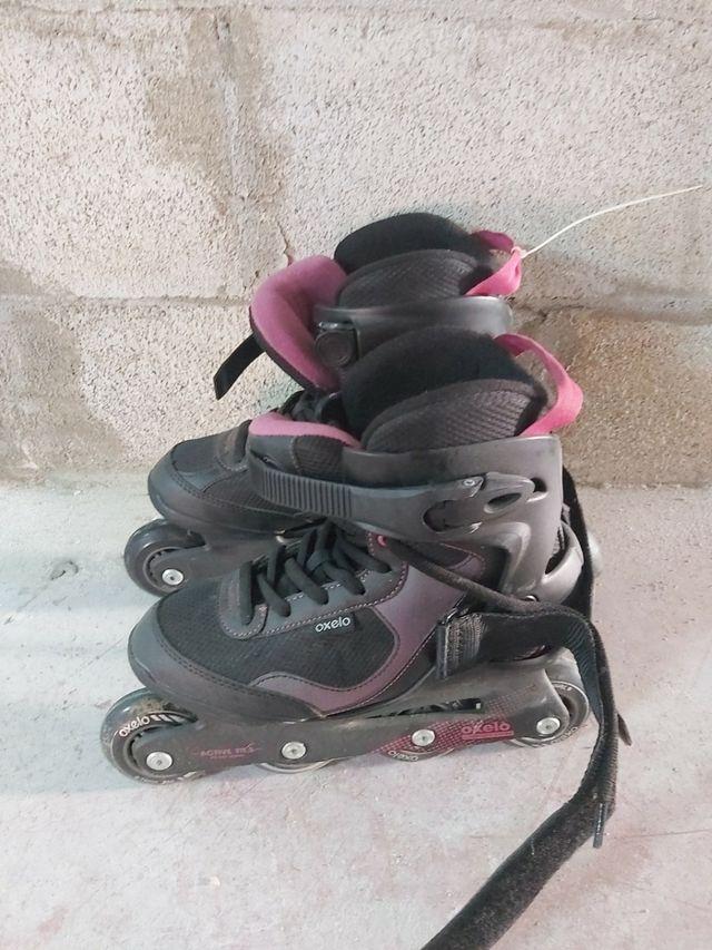 patines de línea talla 37