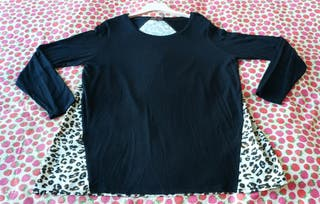 Camiseta con animal print T.XL