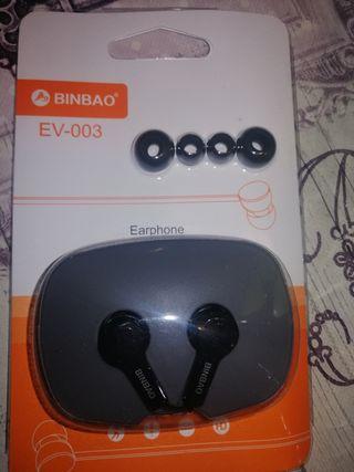 auriculares nuevos