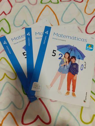 Matemáticas 4primaria
