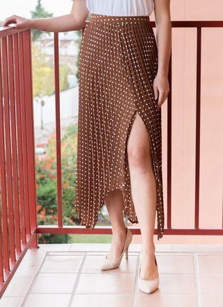 Falda plisada Zara mujer nueva con etiqueta