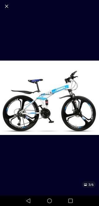 bicicleta mountain bike plegable