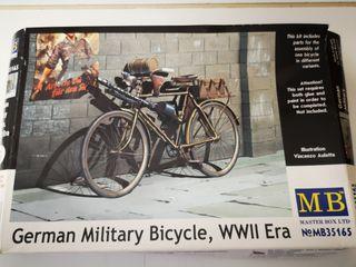 Maqueta bicicleta militar Alemana WWII