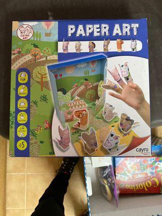 Nuevo Marionetas de dedo de papel