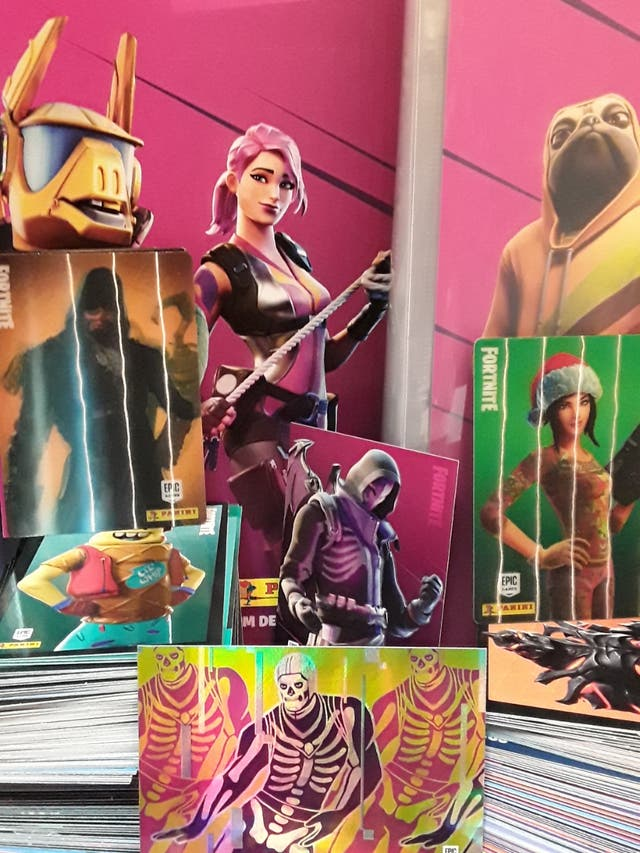 Fortnite RELOADED trading cards oficial Oferta