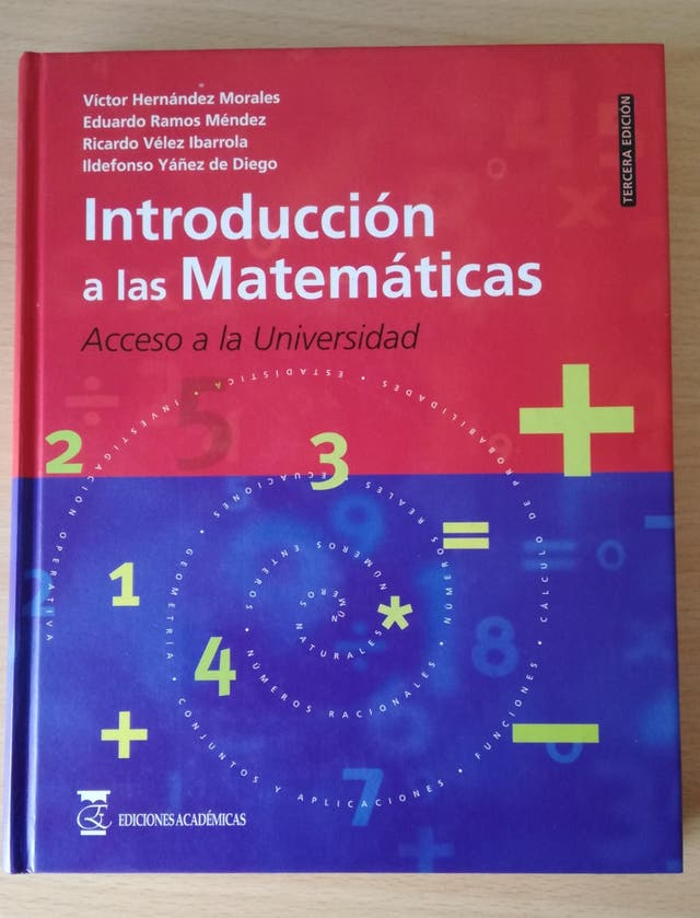 Introducción a las matemáticas. Acceso Universidad