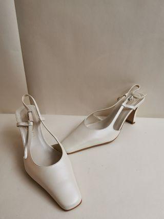 sandalia novia doriani M2182 nuevas