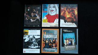DVD LOTE W 6 UNIDADES