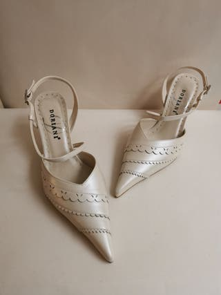 sandalia novia doriani M2645 nuevas