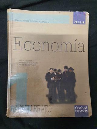 Libro economía 1 Bachillerato