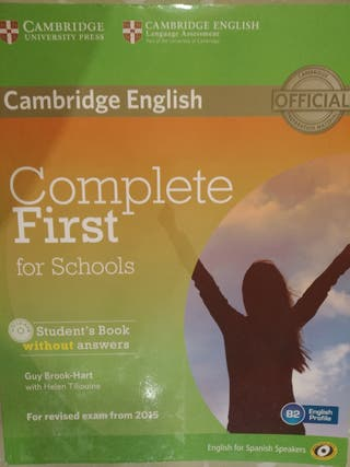 Complete First for schools, student's book