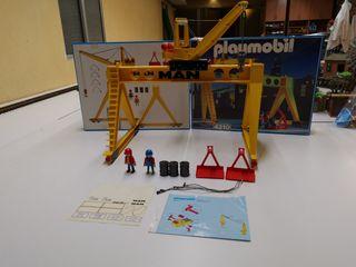 Grúa playmobil 4210 completo en caja