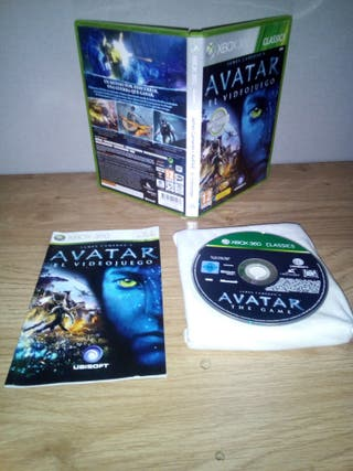 James Cameron Avatar el videojuego (2009) xbox 360