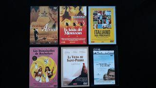 DVD LOTE R 6 UNIDADES