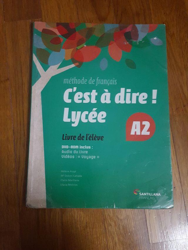 Libro Francés 1° de bach