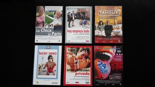 DVD LOTE T 6 UNIDADES