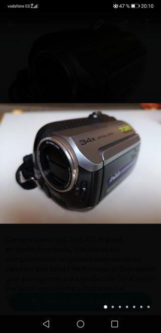 Cámara video JVC EVERIO Hybrid