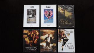 DVD LOTE N 6 UNIDADES