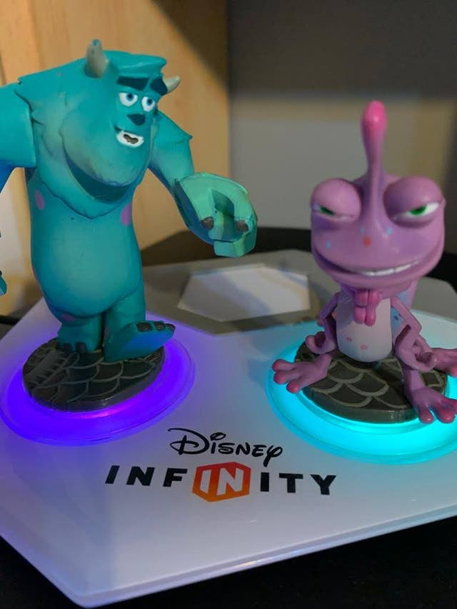 Figuras Disney Infinity 3.0 PS3 Monstruos S.A