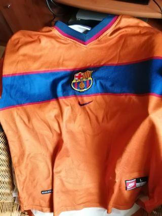 vendo camiseta fc Barcelona Nike temporada 99-00