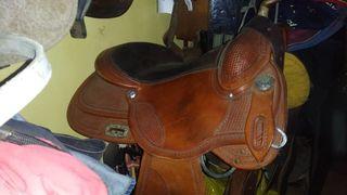 silla de montar a caballo lanzarote