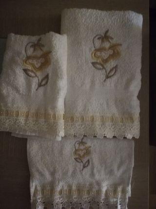Juego de toallas.