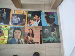 lote de disco flamenco en vinilo