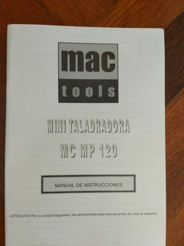 Mini taladradora- Pack completo de accesorios.