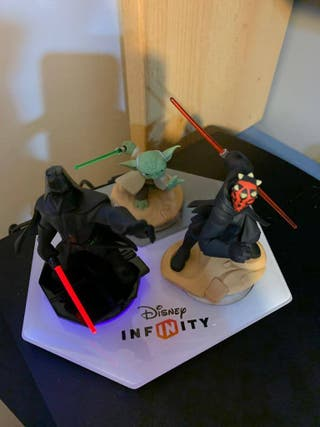 Pack Figuras Disney Infinity 3.0 PS3