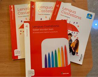 Libro de Lengua Castellana 4 de primaria
