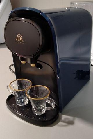 Cafetera de cápsulas Philips L'OR dos tazas