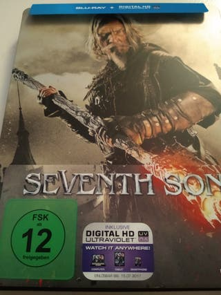 Steelbook. Seventh Son. Bluray