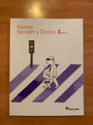 Libro de Valores Sociales y Cívicos 3 de primaria