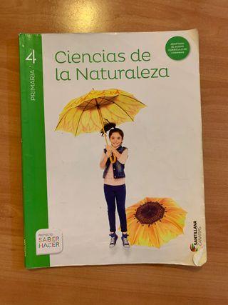 Libro de Ciencias de la Naturaleza 4 de primaria