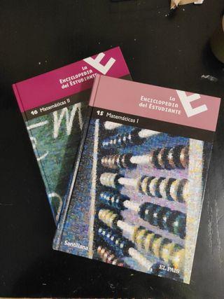 Matemáticas I y II Enciclopedia del estudiante