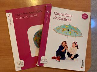 Libro de Ciencias Sociales de 4 de primaria