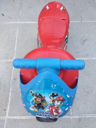 Moto correpasillos Patrulla Canina